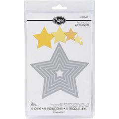 Sizzix® Framelits™ Stars 5-pc. Die Set