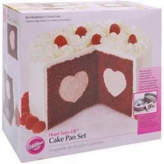 Wilton® Heart Tasty-Fill™ Cake Pan Set