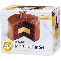 Wilton® Round Tasty Fill™ Mini Cake Pan Set