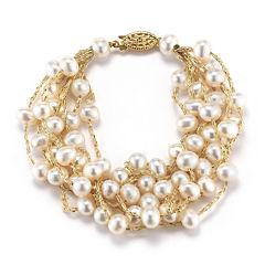 Cultured Freshwater Pearl Multi-Strand Bracelet
