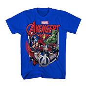Marvel® Avengers Shield Group Tee - Boys 8-20