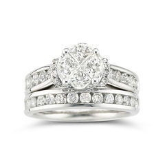 Harmony Eternally in Love 2 CT. T.W. Certified Diamond Bridal Set