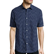 Claiborne® Weekend Casual Short-Sleeve Woven Shirt