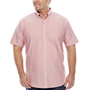The Foundry Supply Co.™ Short-Sleeve Oxford Shirt - Big & Tall