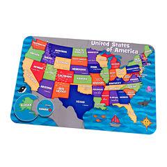 KidKraft® 24-pc. USA Map Floor Puzzle
