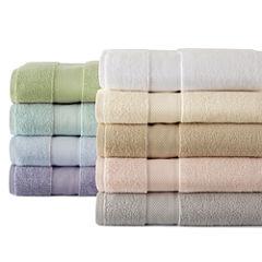 Liz Claiborne® Sculpted and MicroCotton® Bath Towel Collection