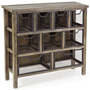 Madison Park Industrial Storage Console Table