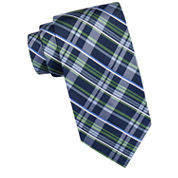 Stafford® High Street Plaid Silk Tie