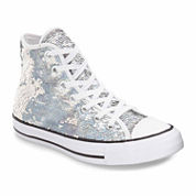 Converse Chuck Taylor All Star Sequin High Top Womens Sneakers