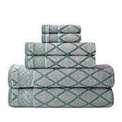 Royal Velvet® Diamond Jacquard Bath Towel Collection