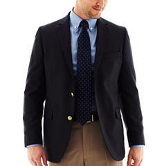 Stafford® Executive Khaki Hopsack Blazer - Classic