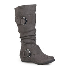 Journee Collection Jester Slouch Knee-High Boots - Wide Calf