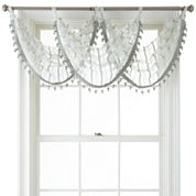 Liz Claiborne® Lauren Tab-Top Sheer Waterfall Valance