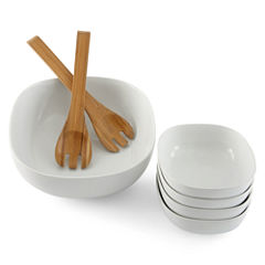 JCPenney Home™ 7-pc. Porcelain Salad Serving Set