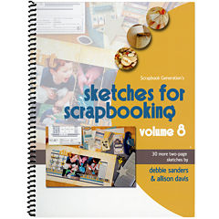 Scrapbook Generation-Sketches for Scrapbooking Volume 8