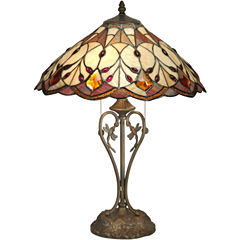 Dale Tiffany™ Patrice Jeweld Tiffany Table Lamp