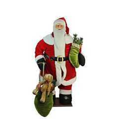 5' Life-Size Deluxe Animated & Musical Inflatable Santa Claus