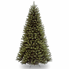 National Tree Co. 7 Foot North Valley Spruce Hinged Christmas Tree