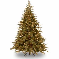 National Tree Co. 6 Foot Frasier Grande Hinged Pre-Lit Christmas Tree