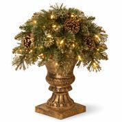 National Tree Co Glittery Gold Pine Porch Pre-Lit Christmas Tree