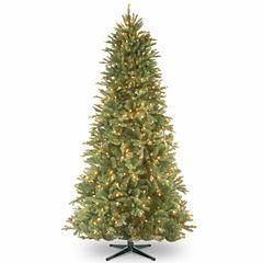 National Tree Co. 7 1/2 Foot Tiffany Fir Slim Pre-Lit Christmas Tree
