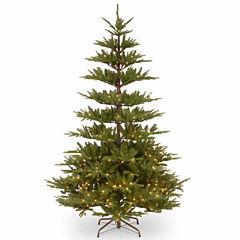 National Tree Co. 7 1/2 Foot Glenwood Fir Pre-Lit Christmas Tree