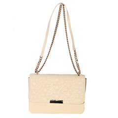 Dot Dash Nina Quilted Flap Crossbody Bag