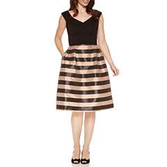 S. L. Fashions Sleeveless Party Dress