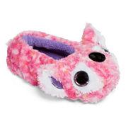Girls Ballerina Kacey-Pink Koala Slippers