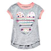 Arizona Girls Short Sleeve T-Shirt-Toddler