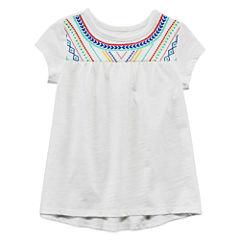Arizona Short Sleeve Blouse - Toddler Girls