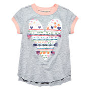 Arizona Short Sleeve T-Shirt-Preschool Girls
