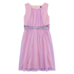 My Michelle Sleeveless Party Dress - Big Kid Girls
