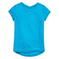 Xersion Short Sleeve T-Shirt-Big Kid Girls