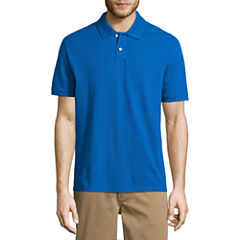 City Streets Short Sleeve Pique Polo Shirt