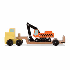 Melissa & Doug Trailer And Excavator