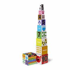 Melissa & Doug Nesting Blocks - Numbers, Shapes, Colors