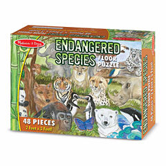 Melissa & Doug® Endangered Species Floor Puzzle (48 pc)