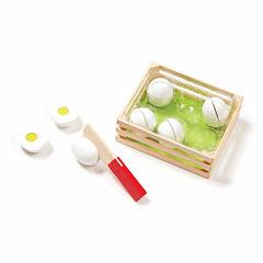 Melissa & Doug® Slice & Sort Wooden Eggs