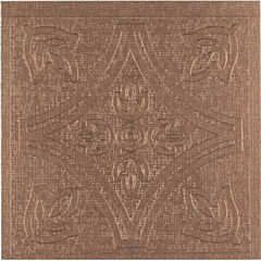 Metallo Copper 4x4 Self Adhesive Vinyl Wall Tile - 24 Tiles/3 Sq Ft.