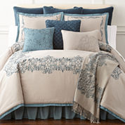 Royal Velvet Sienna 4-pc. Comforter Set & Accessories