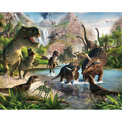 Walltastic Dinosaur Land Wall Mural