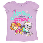 Girls Paw Patrol Graphic T-Shirt-Toddler