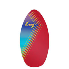 Wave Rebel Surface 40 Inch Wood Laminate Skim Bodyboard