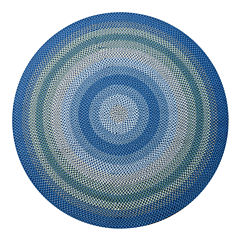 Canyon Reversible Braided Indoor/Outdoor Round Rug
