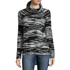 a.n.a Long Sleeve Turtleneck Pullover Sweater-Talls