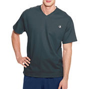 Champion Short Sleeve V Neck T-Shirt-Athletic