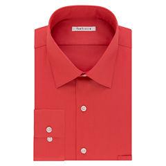 Van Heusen No-Iron Lux Sateen Long Sleeve Dress Shirt