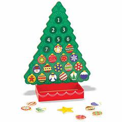 Melissa & Doug® Wooden Advent Calendar