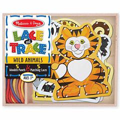 Melissa & Doug® Lace & Trace - Wild Animals